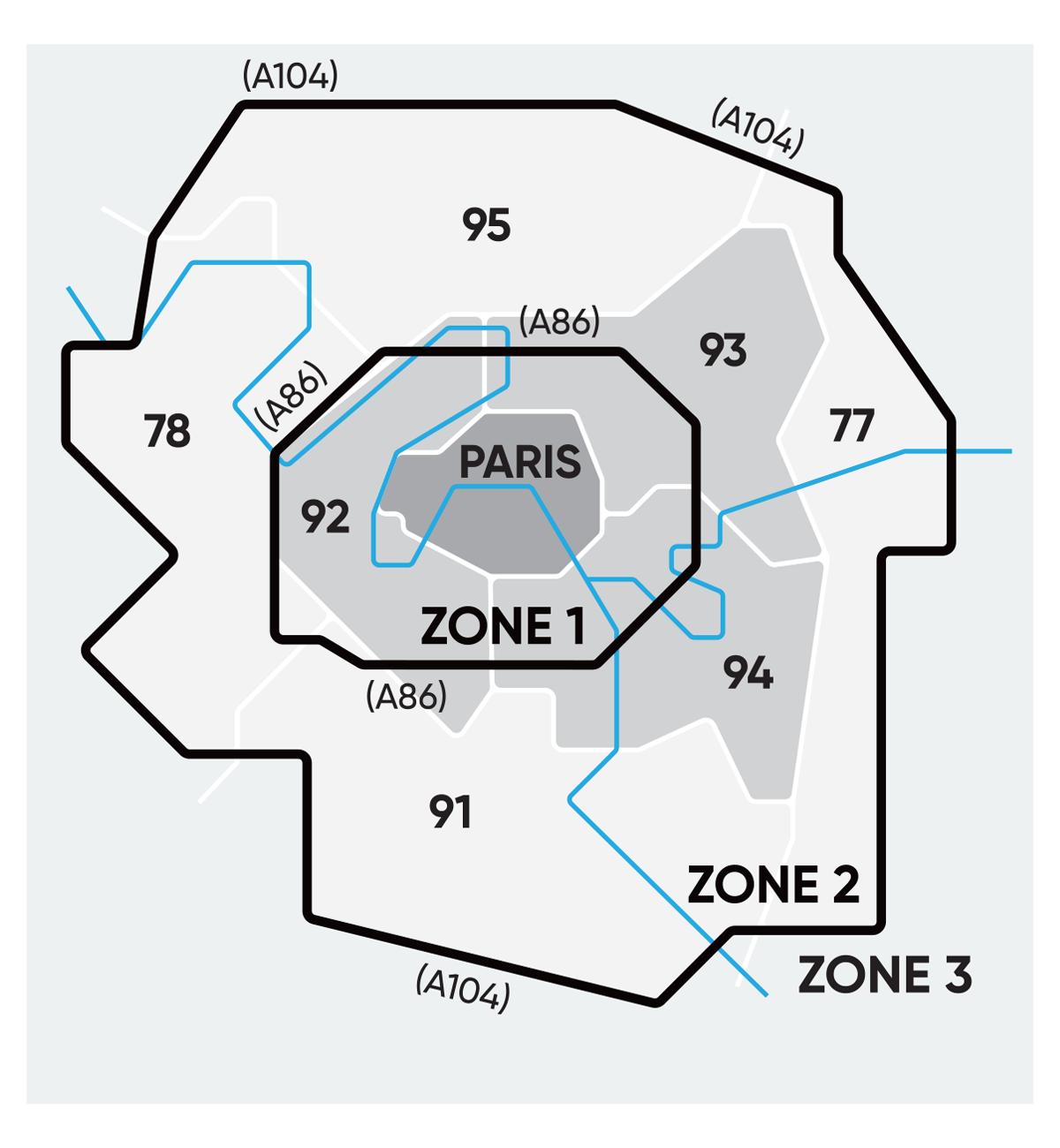 Carte collecte Ile de France