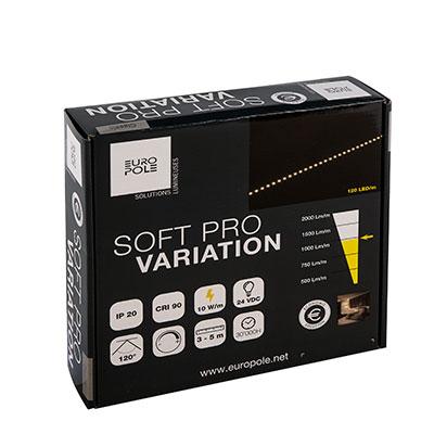 europole luminaire pack bandeaux led soft pro variation