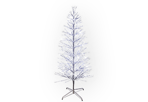 Sapin Spray Argent