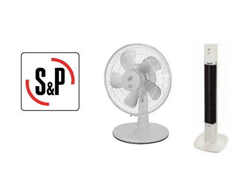 ventilateurs de tables plafonds et colonnes