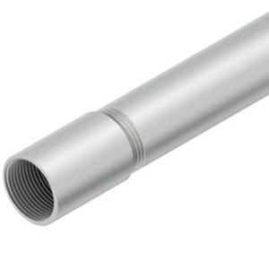 Gewinderohr IEC aluminium - Länge 3m