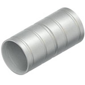 Steckmuffe aluminium